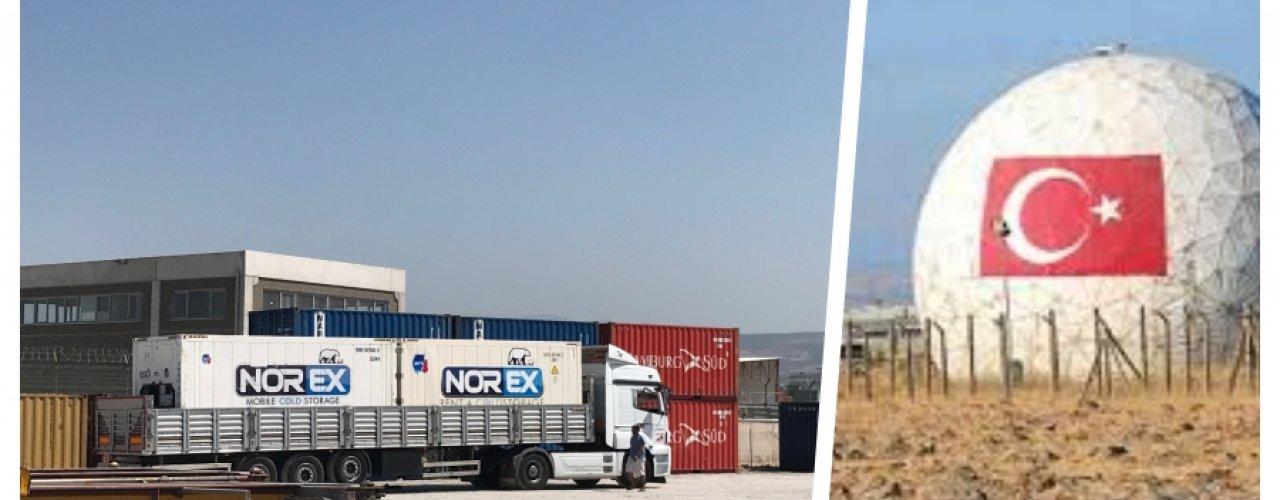 Malatya Kürecik Nato Radar Üssü Norex Mobil Soğuk Hava Konteynerlerimizi Kiraladı