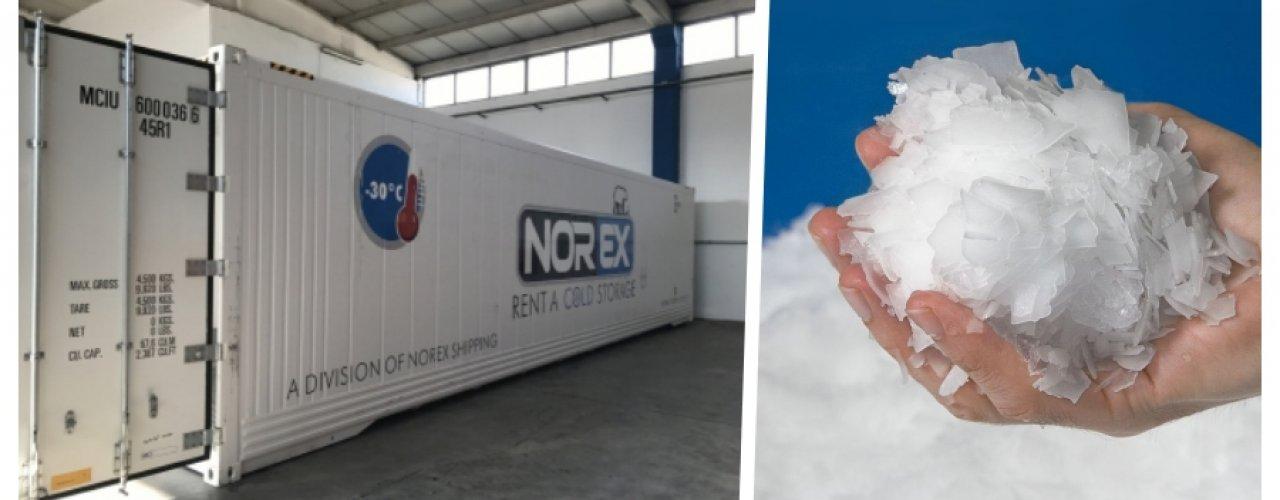Buz üreticileri Norex Soğuk Hava Konteynerlerimizi Tercih Ediyor