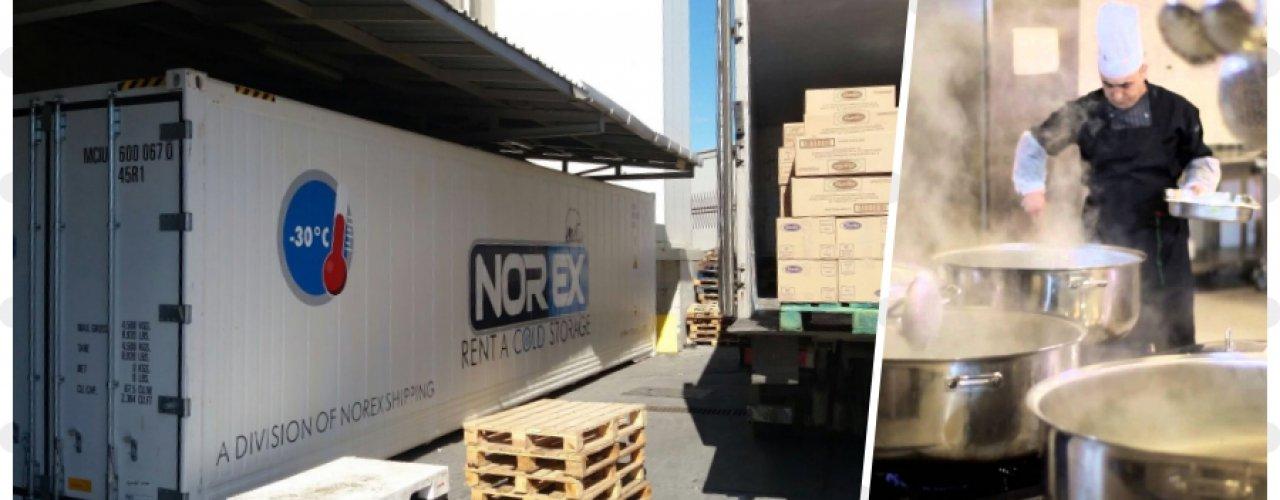 Sektöründe Lider Catering Firması Müşterimiz 1x40 hc Mobil Soğuk Hava Konteynerimizi Kiraladı.