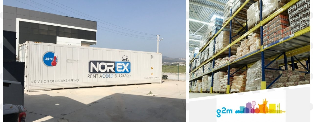 Lider EDT Ev Dışı Tüketim Firması G2M İkitelli Deposunda Kullanmak Üzere Norex Mobil Soğuk Hava Deposu Kiraladı