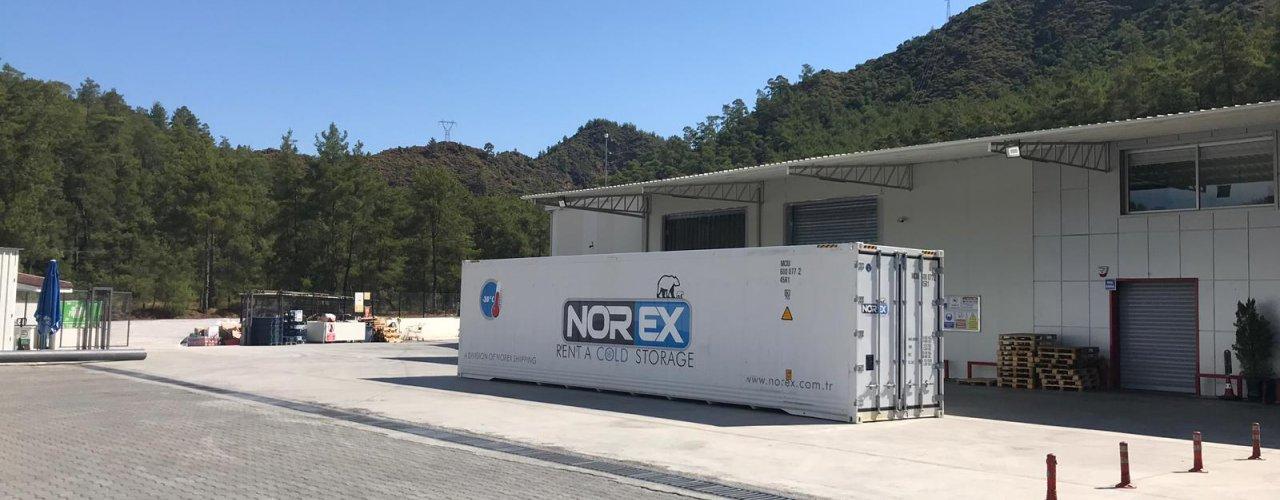 Bölgesinde Lider Toptan Gıda Firması Norex Mobil Soğuk Hava Deposunu Yaz Sezonu için Kiraladı