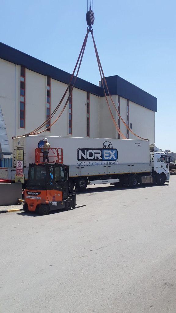 Lider Bisküvi Fabrikasi  Norex Mobil Soguk Hava Depolarini Kiraladi