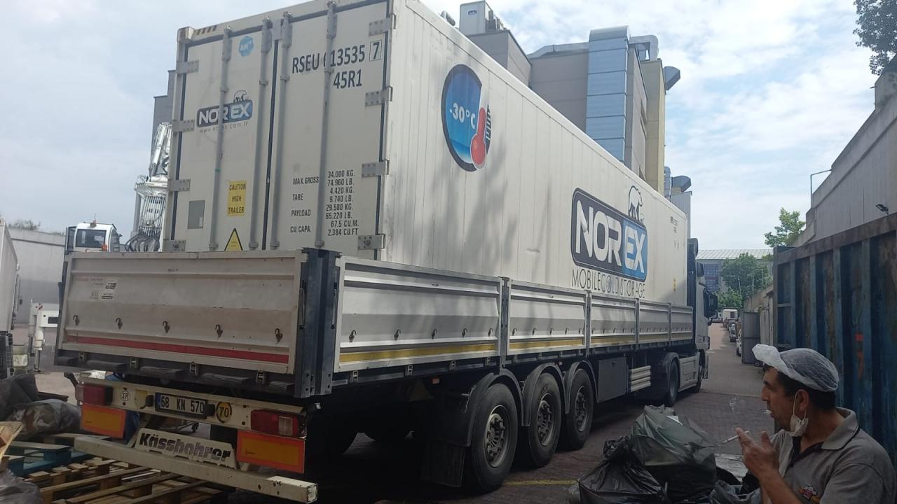 Istanbul Merkezli Lider Börek Üretim Fabrikasi 2x40 hc Mobil Soguk Hava Konteynerlerimizi Kiraladi